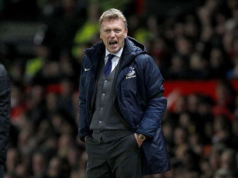 David Moyes' men were beaten at Old Trafford