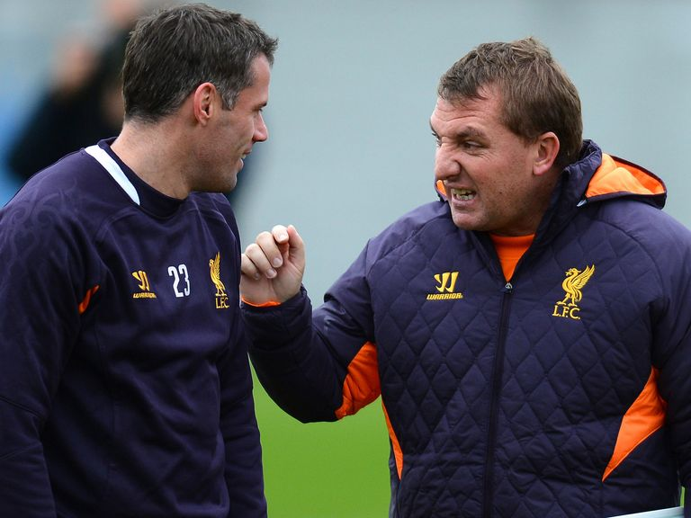 Jamie Carragher: Praised by Brendan Rodgers