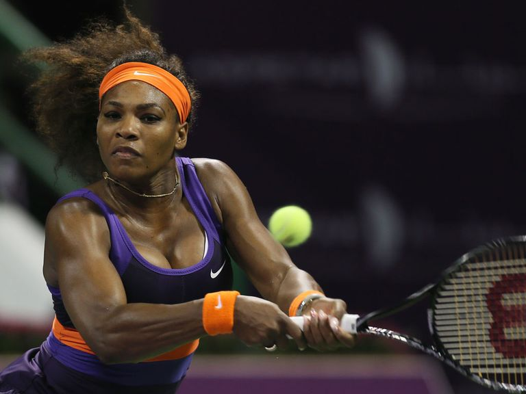 Serena Williams: Cruised into the final in Doha