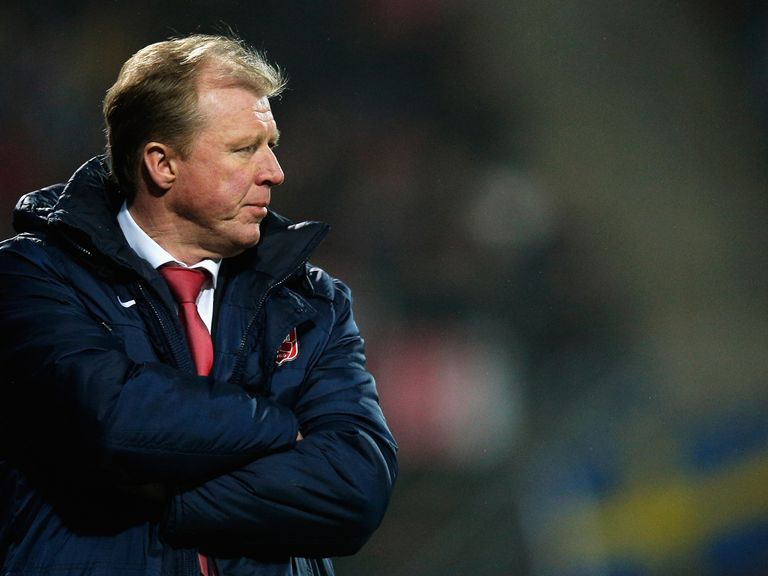 Steve McClaren: New favourite to replace Nigel Clough