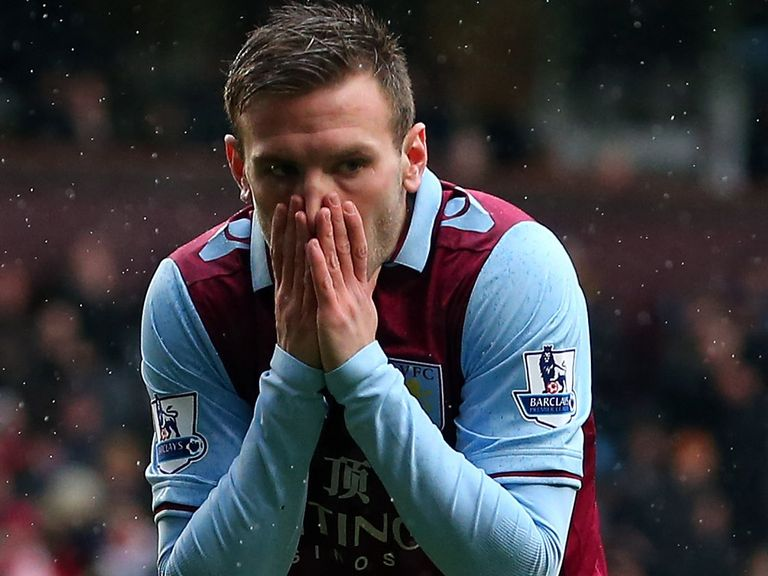 Andreas Weimann: Missed target from six yards