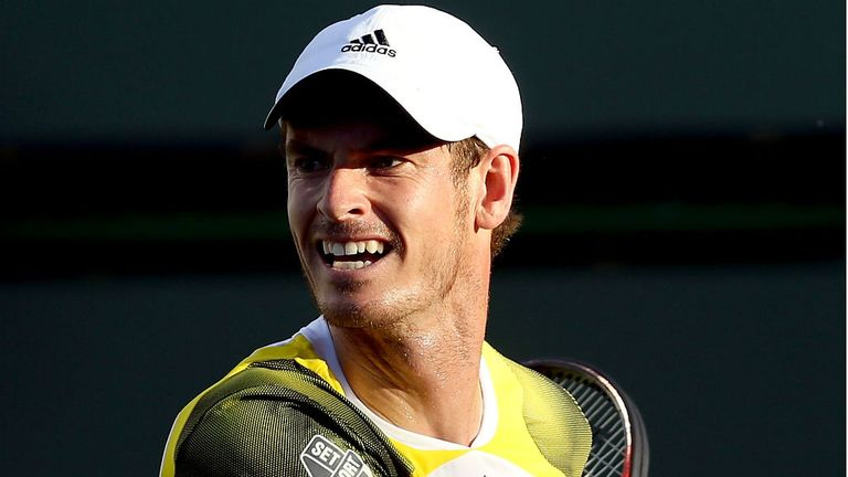Andy Murray: Was forced to work hard for his straight sets win