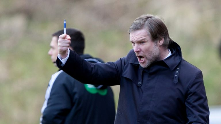 Steven Pressley: Ready to wield the axe
