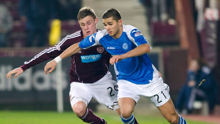 Mehdi Abeid: Has caught the eye during a loan spell at St Johnstone