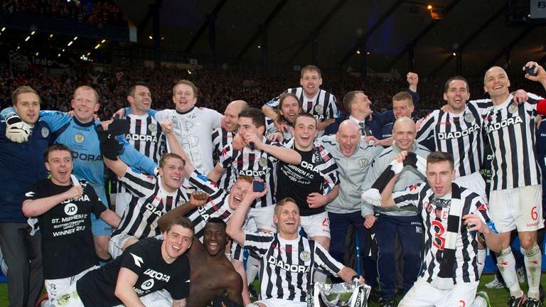 St Mirren: Celebrate their Scottish League Cup triumph