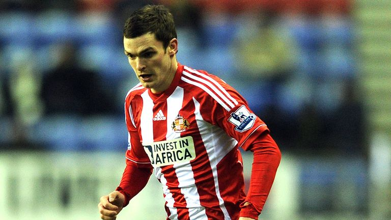 Adam Johnson: The winger was not involved in the doubleheader against San Marino and Montenegro