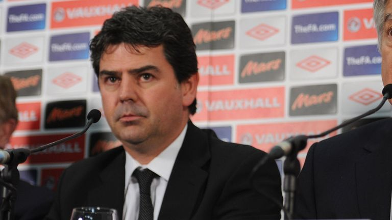 Adrian Bevington: Says the FA is continuing to review video footage of fans in San Marino