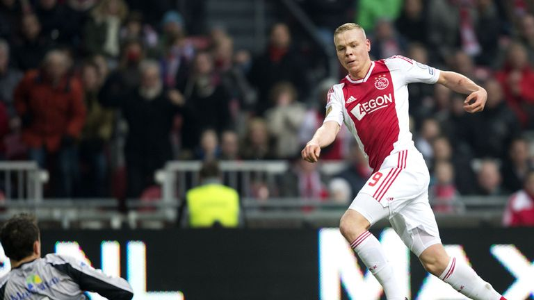 Kolbeinn Sigthorsson: Scores for Ajax against PEC Zwolle