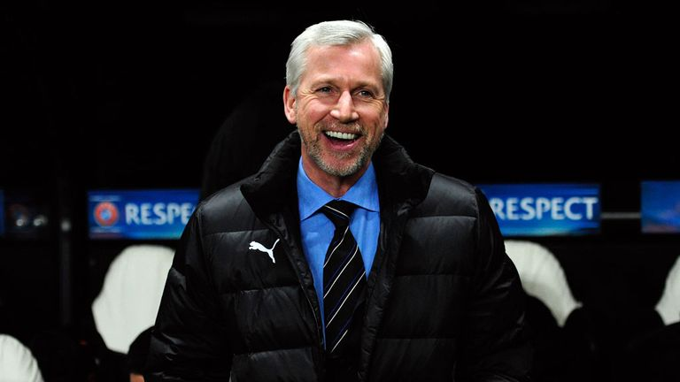 Alan Pardew: No laughing matter for the Newcastle fans