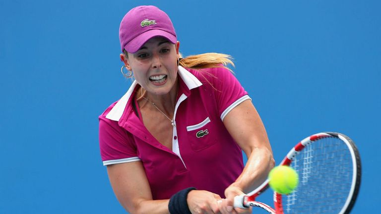Alize Cornet: Survived nine match points to beat Lourdes Dominguez Lino