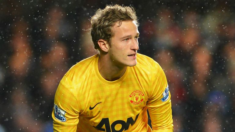 Anders Lindegaard: Has been linked with a summer move away from Manchester United