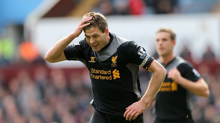 Steven Gerrard: More goals against Aston Villa than anyone else