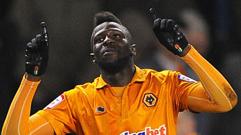 Bakary Sako: Netted at the death to bag Wolves a draw with Watford