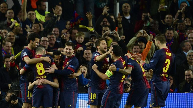 Barca: Showed their class against Milan, says Niall