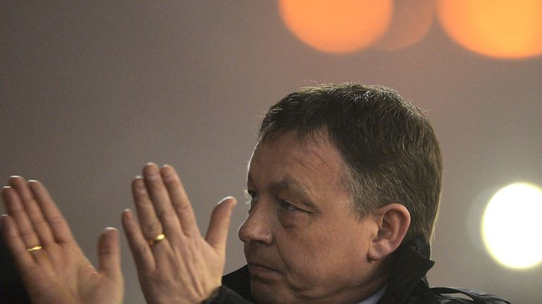 Billy Davies: Forest's recent form has brought praise from the club's owner
