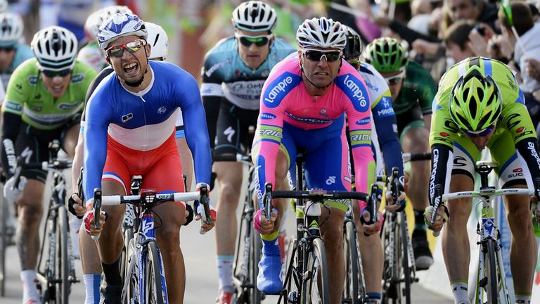 Nacer Bouhanni sprinted to his second victory of the season
