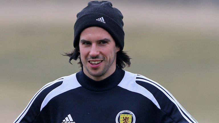 George Boyd: Made his Scotland debut on Tuesday night