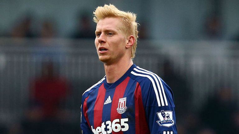 Brek Shea: USA international has found his chances limited with Stoke