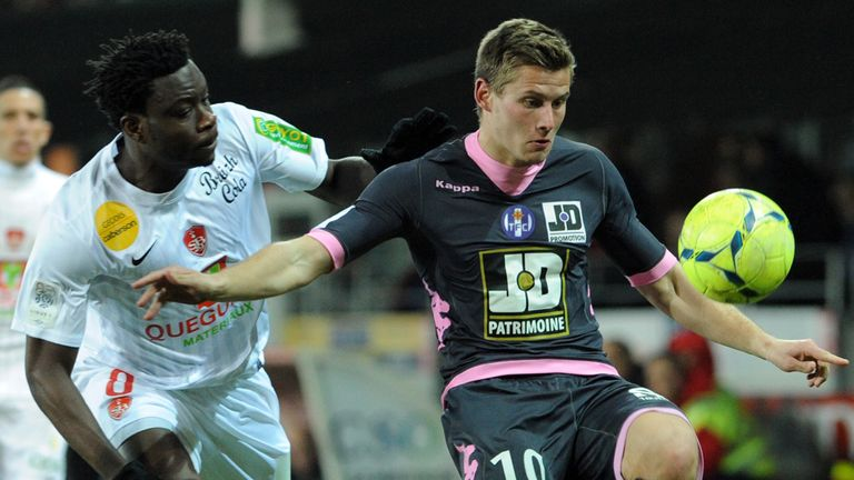 Franck Tabanou: Completed his move to St Etienne on Monday