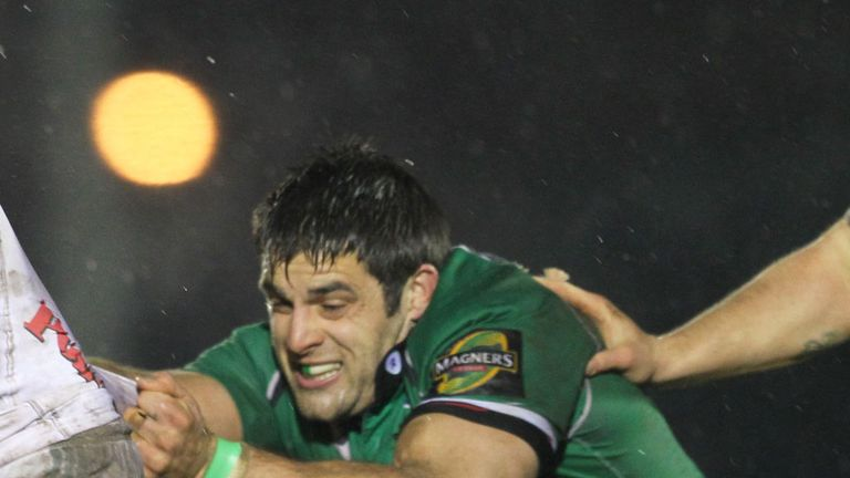Andrew Browne: New contract at Connacht