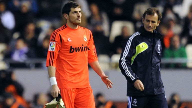 Casillas: Broke his left hand in January