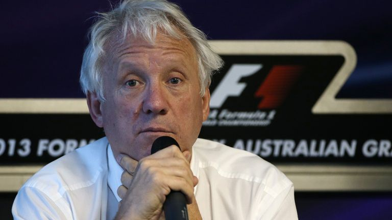 Charlie Whiting: Has floated the penalty points system