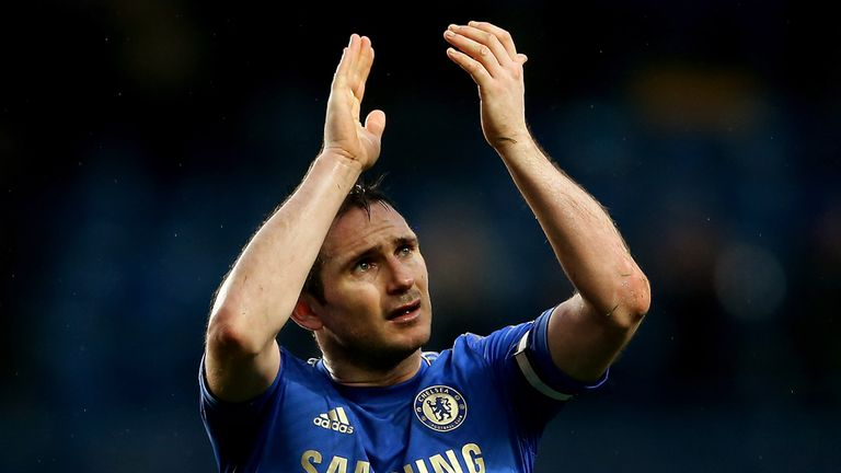 Frank Lampard: Helping Chelsea battle for top-four finish