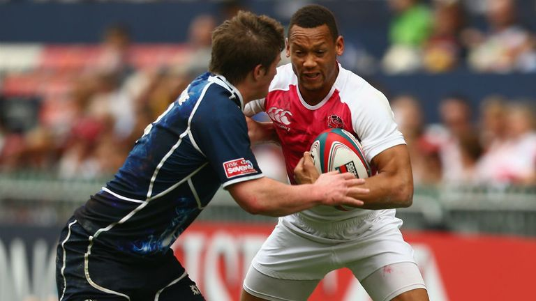 England's Dan Norton in action against Scotland