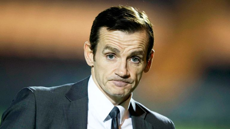 Danny Lennon: Hopeful of staying St Mirren boss