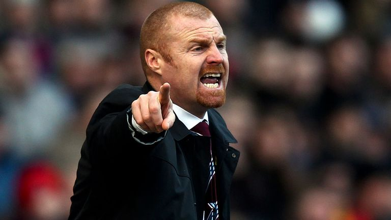 Sean Dyche: Burnley boss has players back from injury