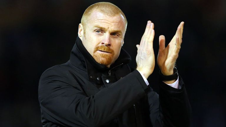Sean Dyche: 'Fear' crippling Burnley players at Turf Moor