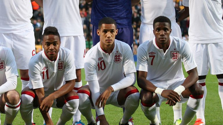 Sterling, Ince and Zaha: Key trio for U21s