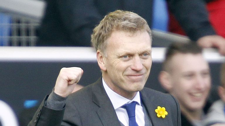 David Moyes: It is the 10th time he has been named Barclays Manager of the Month