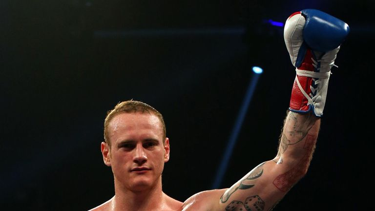 George Groves: Successful on his debut for Matchroom