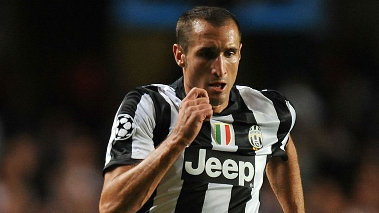 Giorgio Chiellini: Thinks the title will arrive, but not this weekend