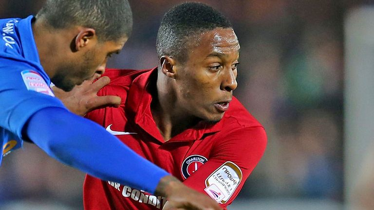 Callum Harriott: Goal secured Charlton all three points
