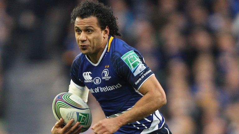 Isa Nacewa: on the scoresheet for Leinster