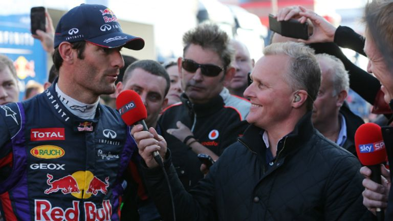 Webber signed a one-year contract extension with Red Bull last summer