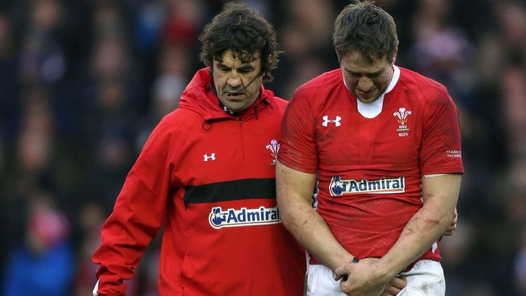 Wales skipper Ryan Jones: Out of England clash