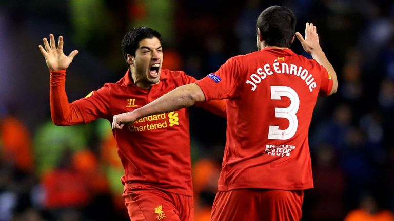 Luis Suarez: Considered to be Liverpool's talisman by Jose Enrique