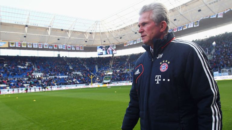 Jupp Heynckes: Set to retire in the summer and be replaced by the headline-grabbing Pep Guardiola