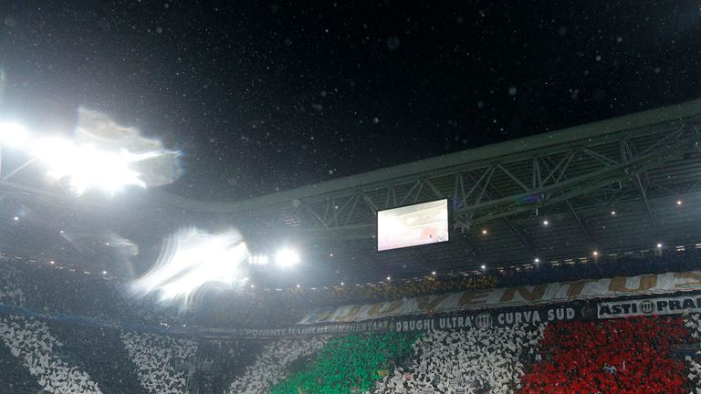 Juventus Stadium: Hit with ban