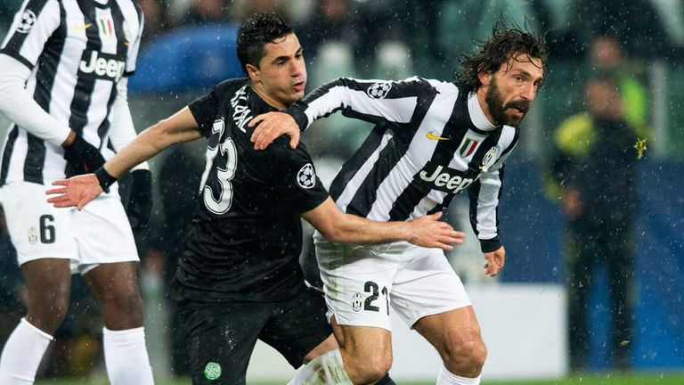 Beram Kayal: Challenges Andrea Pirlo of Juventus