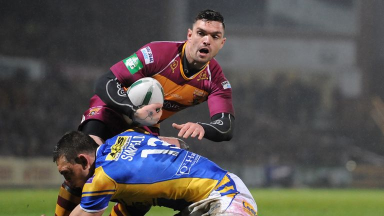 Danny Brough: Has pledged his allegiance to Scotland