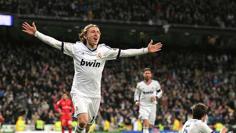 Luka Modric: Admits there is interest in his services, but he is happy in Madrid