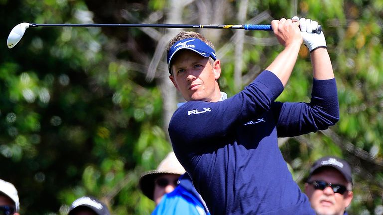 "Luke Donald: ""A lot of improvement"" in Tampa Bay"