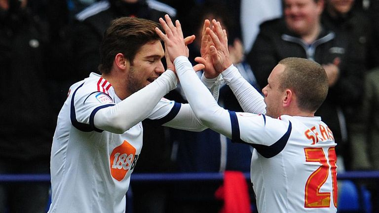 Marcos Alonso (left): Netted Bolton's second goal
