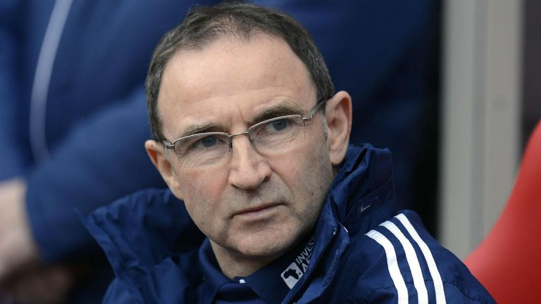 Martin O'Neill: Expected to replace Giovanni Trapattoni as Ireland boss