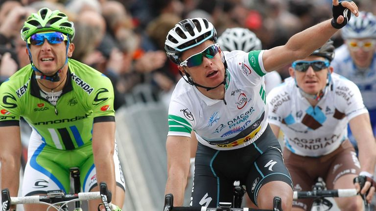 Gianni Meersman now leads the Volta a Catalunya by 16 seconds