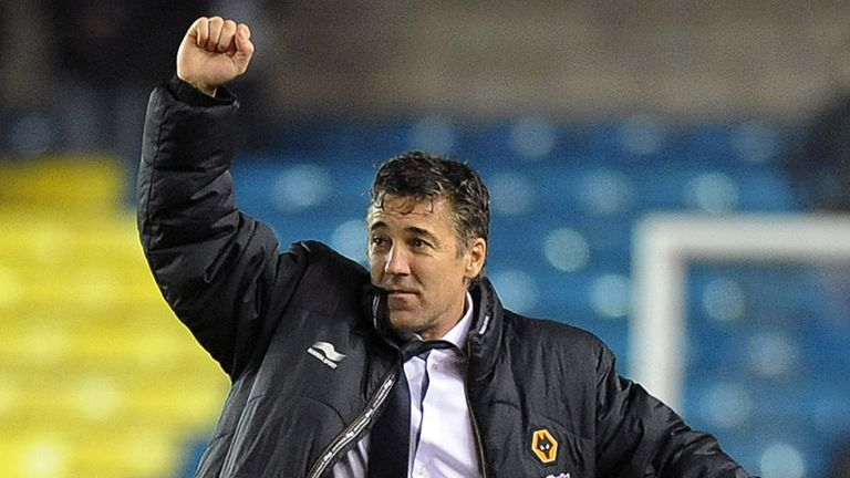 Dean Saunders: Celebrates a crucial three points as they battle relegation